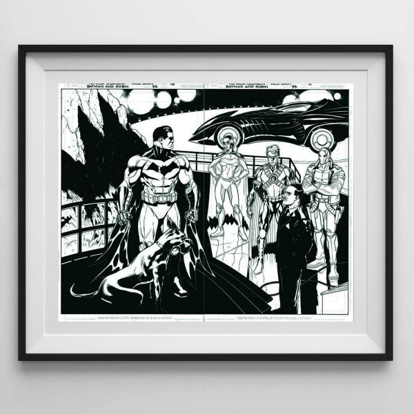 plansze_komiksowe_com_batman_and_robin_3_Patrick_glayson_mick_gray_original_comic_art_page
