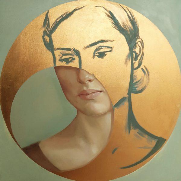 Złoty portret
