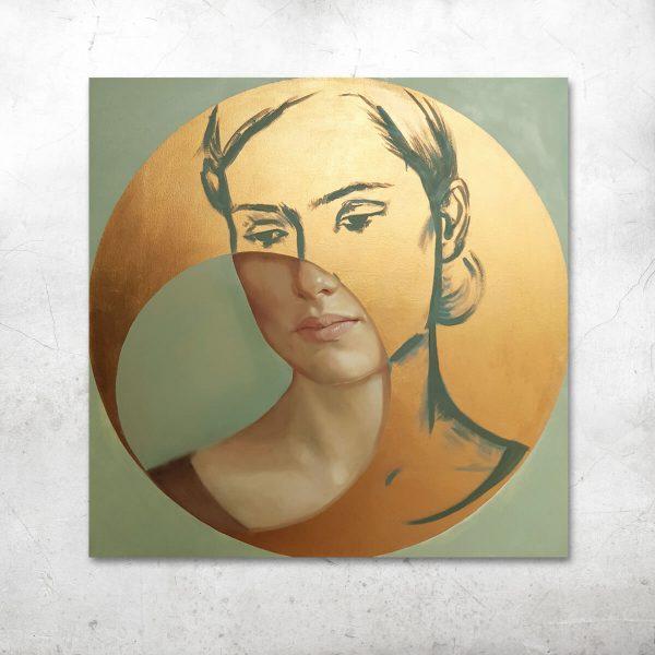 Złoty portret_artesklep